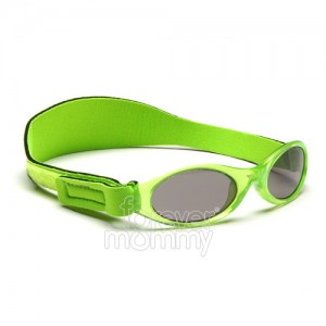 Adventure Baby Banz 0-2 years Lime Green are 100% UVA/UVB protective.feature an embedded silicone nose and brow piece for added comfort for the little..