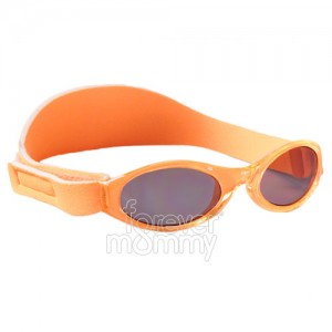 Adventure Baby Banz 0-2 years Sunset Orange are 100% UVA/UVB protective.feature an embedded silicone nose and brow piece for added comfort for the little..