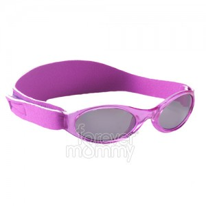 Adventure Kidz Banz 2-5 Years Paradise Purple are 100% UVA/UVB protective.feature an embedded silicone nose and brow piece for added comfort for the littl..