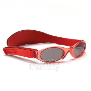 Adventure Kidz Banz 2-5 Years Rockin' Red are 100% UVA/UVB protective.feature an embedded silicone nose and brow piece for added comfort....