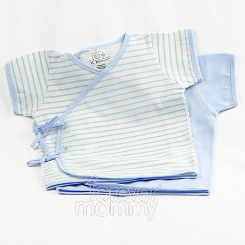 Tie-Side Shirt Short Sleeve