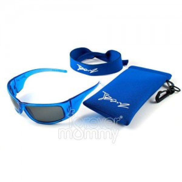 JuniorBanz Boys 4-10 Years Pacific Blue are 100% UVA/UVB protective.feature an embedded silicone nose and brow piece for added comfort for the little..
