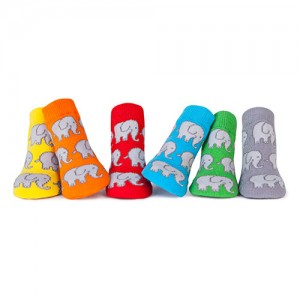 Trumpette Ellie Assorted Socks 0-12 mos have soft little socks in a rainbow of hues are printed with friendly elephants. They come packaged in a darling....
