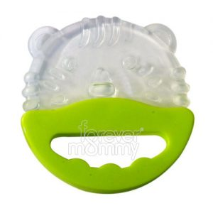Baby Rattle Teether Premium Green