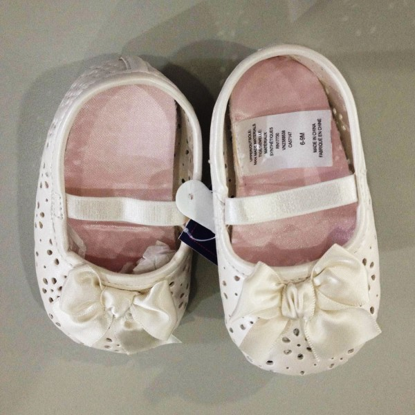 Mary Jane Shoes Almond Cream